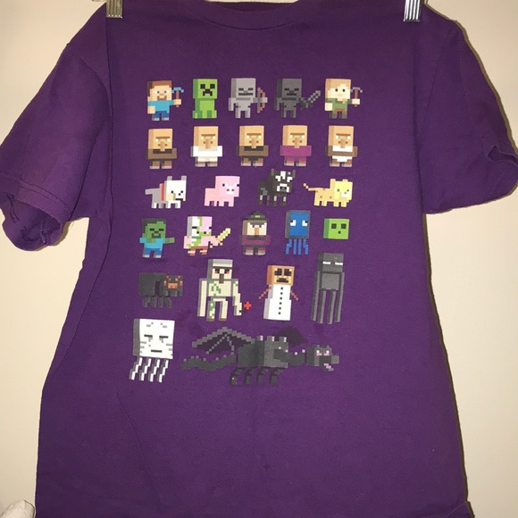 d18d5609a187c Mojang Jinx Shirts & Tops   Minecraft Character Tshirt   Poshmark